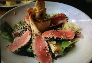 Ahi Tuna Salad from the Cafe at Desert Ridge