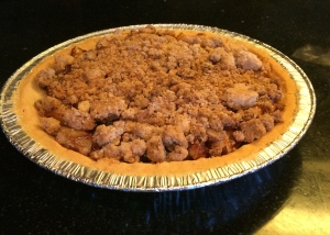 EZ almost no measure Apple Crumb Pie